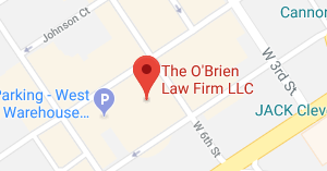 map for obrien law office